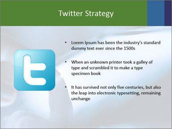 Finger touching screen PowerPoint Template - Slide 9