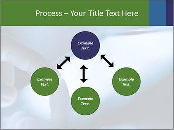 Finger touching screen PowerPoint Template - Slide 91