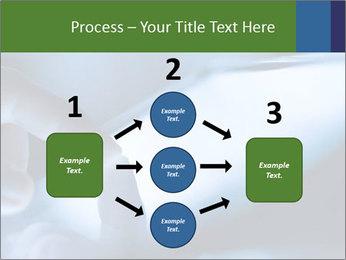 Finger touching screen PowerPoint Template - Slide 92