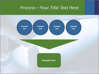 Finger touching screen PowerPoint Template - Slide 93