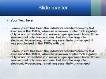Shanghai Skyline PowerPoint Templates - Slide 2