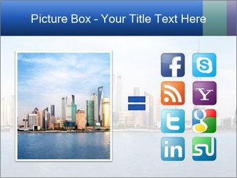 Shanghai Skyline PowerPoint Templates - Slide 21