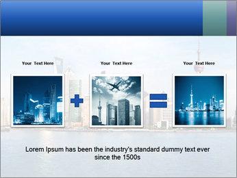 Shanghai Skyline PowerPoint Templates - Slide 22