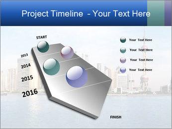 Shanghai Skyline PowerPoint Templates - Slide 26