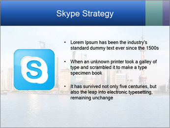 Shanghai Skyline PowerPoint Templates - Slide 8
