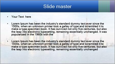 Shanghai Skyline PowerPoint Template - Slide 2