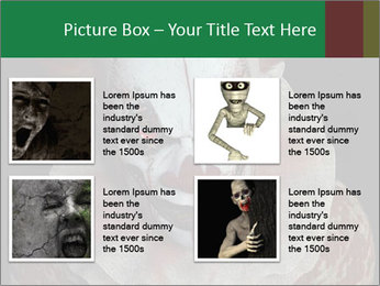 Scary clown PowerPoint Template - Slide 14