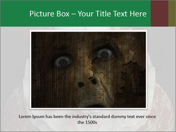 Scary clown PowerPoint Template - Slide 15