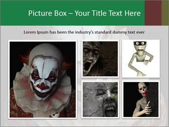 Scary clown PowerPoint Template - Slide 19