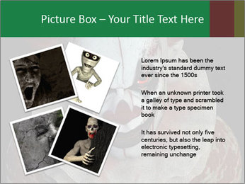 Scary clown PowerPoint Template - Slide 23