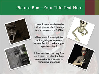 Scary clown PowerPoint Template - Slide 24