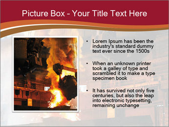 Metallurgical plant PowerPoint Template - Slide 13