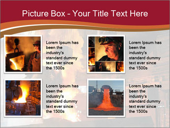 Metallurgical plant PowerPoint Template - Slide 14