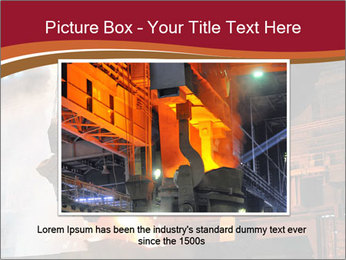 Metallurgical plant PowerPoint Template - Slide 15