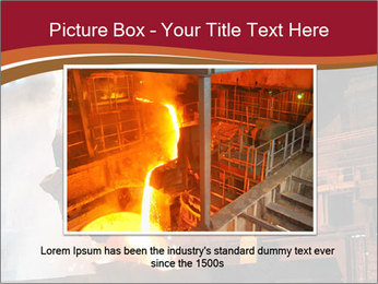 Metallurgical plant PowerPoint Template - Slide 16