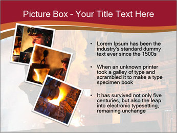 Metallurgical plant PowerPoint Template - Slide 17