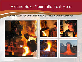 Metallurgical plant PowerPoint Template - Slide 19