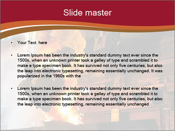 Metallurgical plant PowerPoint Template - Slide 2