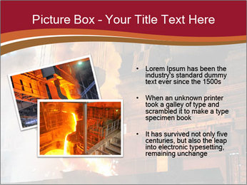 Metallurgical plant PowerPoint Template - Slide 20