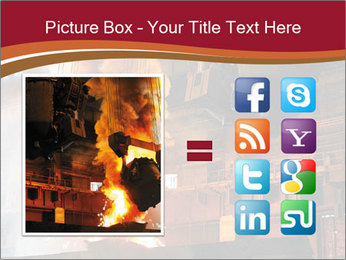 Metallurgical plant PowerPoint Template - Slide 21