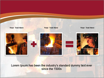 Metallurgical plant PowerPoint Template - Slide 22