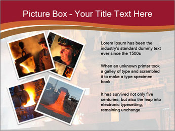 Metallurgical plant PowerPoint Template - Slide 23