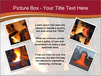 Metallurgical plant PowerPoint Template - Slide 24