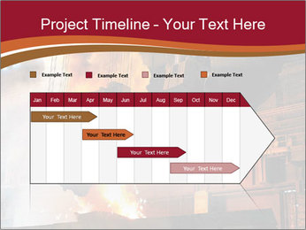 Metallurgical plant PowerPoint Template - Slide 25