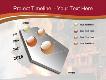 Metallurgical plant PowerPoint Template - Slide 26