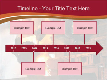 Metallurgical plant PowerPoint Template - Slide 28