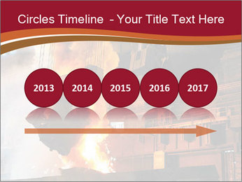 Metallurgical plant PowerPoint Template - Slide 29