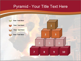 Metallurgical plant PowerPoint Template - Slide 31