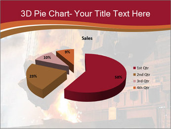 Metallurgical plant PowerPoint Template - Slide 35