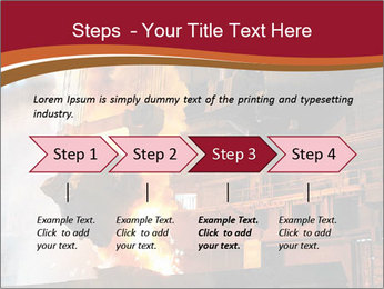 Metallurgical plant PowerPoint Template - Slide 4