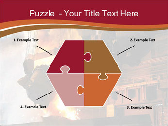 Metallurgical plant PowerPoint Template - Slide 40
