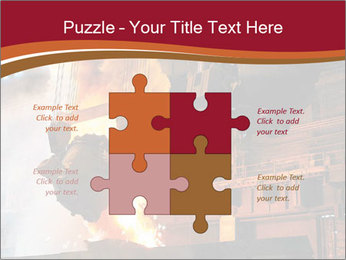 Metallurgical plant PowerPoint Template - Slide 43