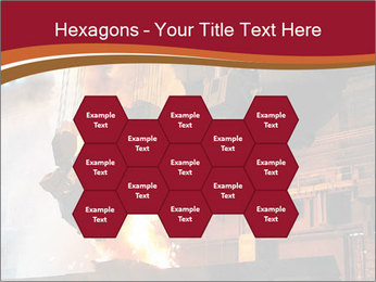 Metallurgical plant PowerPoint Template - Slide 44