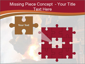 Metallurgical plant PowerPoint Template - Slide 45