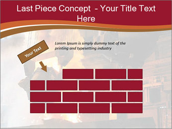 Metallurgical plant PowerPoint Template - Slide 46