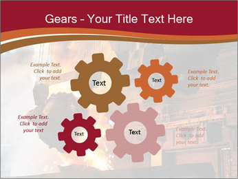 Metallurgical plant PowerPoint Template - Slide 47