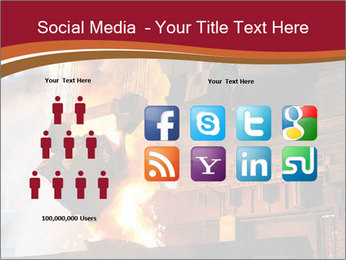Metallurgical plant PowerPoint Template - Slide 5