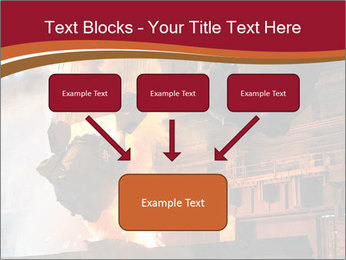 Metallurgical plant PowerPoint Template - Slide 70