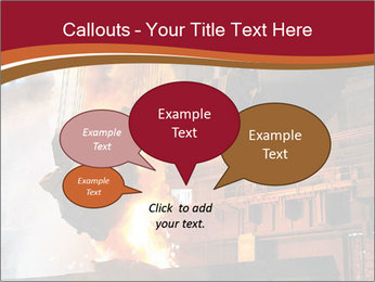 Metallurgical plant PowerPoint Template - Slide 73