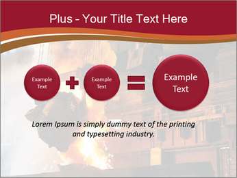 Metallurgical plant PowerPoint Template - Slide 75