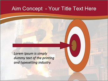 Metallurgical plant PowerPoint Template - Slide 83