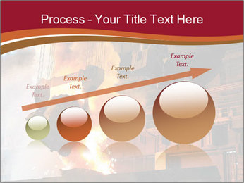 Metallurgical plant PowerPoint Template - Slide 87