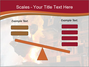 Metallurgical plant PowerPoint Template - Slide 89