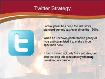 Metallurgical plant PowerPoint Template - Slide 9