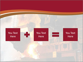 Metallurgical plant PowerPoint Template - Slide 95