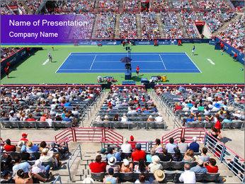 Uniprix Stadium PowerPoint Template - Slide 1